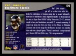 2001 Topps #199  Pat Johnson  Back Thumbnail