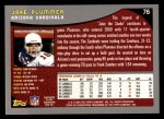 2001 Topps #76  Jake Plummer  Back Thumbnail