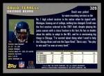 2001 Topps #326  David Terrell  Back Thumbnail