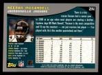 2001 Topps #214  Keenan McCardell  Back Thumbnail