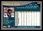 2001 Topps #298  Hardy Nickerson  Back Thumbnail