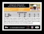 2005 Topps #16  Anquan Boldin  Back Thumbnail