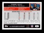 2005 Topps #95  Torry Holt  Back Thumbnail