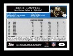 2005 Topps #90  Ernie Conwell  Back Thumbnail