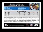2005 Topps #42  Dane Looker  Back Thumbnail