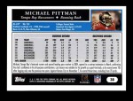 2005 Topps #38  Michael Pittman  Back Thumbnail