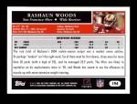 2005 Topps #194  Rashaun Woods  Back Thumbnail