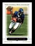 2005 Topps #218  Thomas Jones  Front Thumbnail