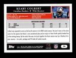 2005 Topps #74  Keary Colbert  Back Thumbnail