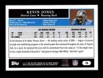 2005 Topps #18  Kevin Jones  Back Thumbnail