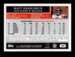 2005 Topps #169  Matt Hasselbeck  Back Thumbnail