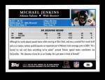 2005 Topps #86  Michael Jenkins  Back Thumbnail
