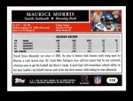 2005 Topps #114  Maurice Morris  Back Thumbnail