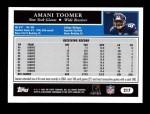 2005 Topps #217  Amani Toomer  Back Thumbnail