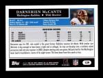 2005 Topps #139  Darnerien McCants  Back Thumbnail