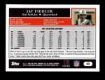 2005 Topps #63  Jay Fiedler  Back Thumbnail