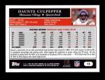2005 Topps #13  Daunte Culpepper  Back Thumbnail