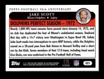 2005 Topps #321   -  Jake Scott Golden Moments Back Thumbnail