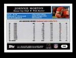 2005 Topps #242  Johnnie Morton  Back Thumbnail