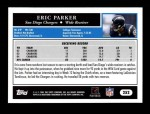2005 Topps #252  Eric Parker  Back Thumbnail