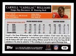 2005 Topps #438  Cadillac Williams  Back Thumbnail