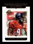 2005 Topps #355   -  Andre Johnson All-Pro Front Thumbnail