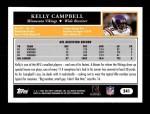 2005 Topps #241  Kelly Campbell  Back Thumbnail
