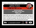 2005 Topps #345   -  Takeo Spikes All-Pro Back Thumbnail