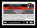 2005 Topps #344   -  Ronde Barber All-Pro Back Thumbnail