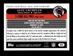 2005 Topps #342   -  Alge Crumpler All-Pro Back Thumbnail