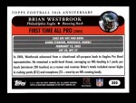 2005 Topps #350   -  Brian Westbrook All-Pro Back Thumbnail