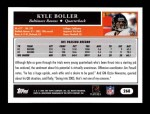 2005 Topps #268  Kyle Boller  Back Thumbnail