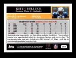 2005 Topps #282  Keith Bulluck  Back Thumbnail