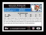 2005 Topps #300  Kellen Winslow  Back Thumbnail
