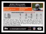 2005 Topps #439  Mike Williams  Back Thumbnail