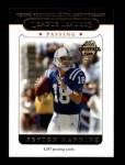 2005 Topps #318  Peyton Manning  Front Thumbnail