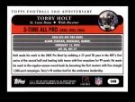 2005 Topps #348   -  Torry Holt All-Pro Back Thumbnail