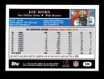 2005 Topps #234  Joe Horn  Back Thumbnail