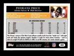 2005 Topps #302  Peerless Price  Back Thumbnail