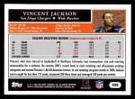 2005 Topps #420  Vincent Jackson  Back Thumbnail