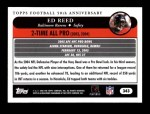 2005 Topps #343   -  Ed Reed All-Pro Back Thumbnail