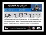 2005 Topps #236  Michael Boulware  Back Thumbnail