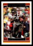 2006 Topps #111  Cadillac Williams  Front Thumbnail