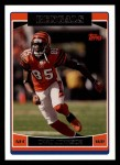 2006 Topps #136  Chad Johnson  Front Thumbnail