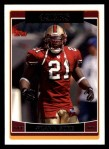 2006 Topps #187  Frank Gore  Front Thumbnail