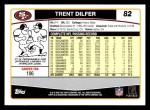 2006 Topps #82  Trent Dilfer  Back Thumbnail