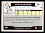 2006 Topps #133  Bernard Berrian  Back Thumbnail