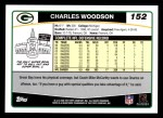 2006 Topps #152  Charles Woodson  Back Thumbnail