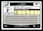2006 Topps #141  L.J. Smith  Back Thumbnail
