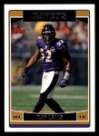 2006 Topps #163  Ray Lewis  Front Thumbnail